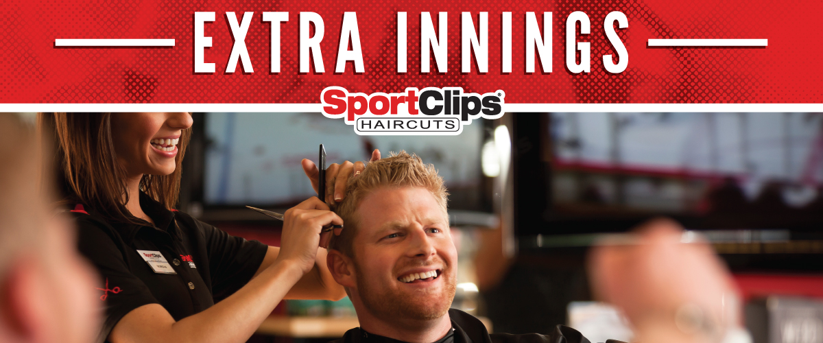 The Sport Clips Haircuts of Tulsa Bixby  Extra Innings Offerings